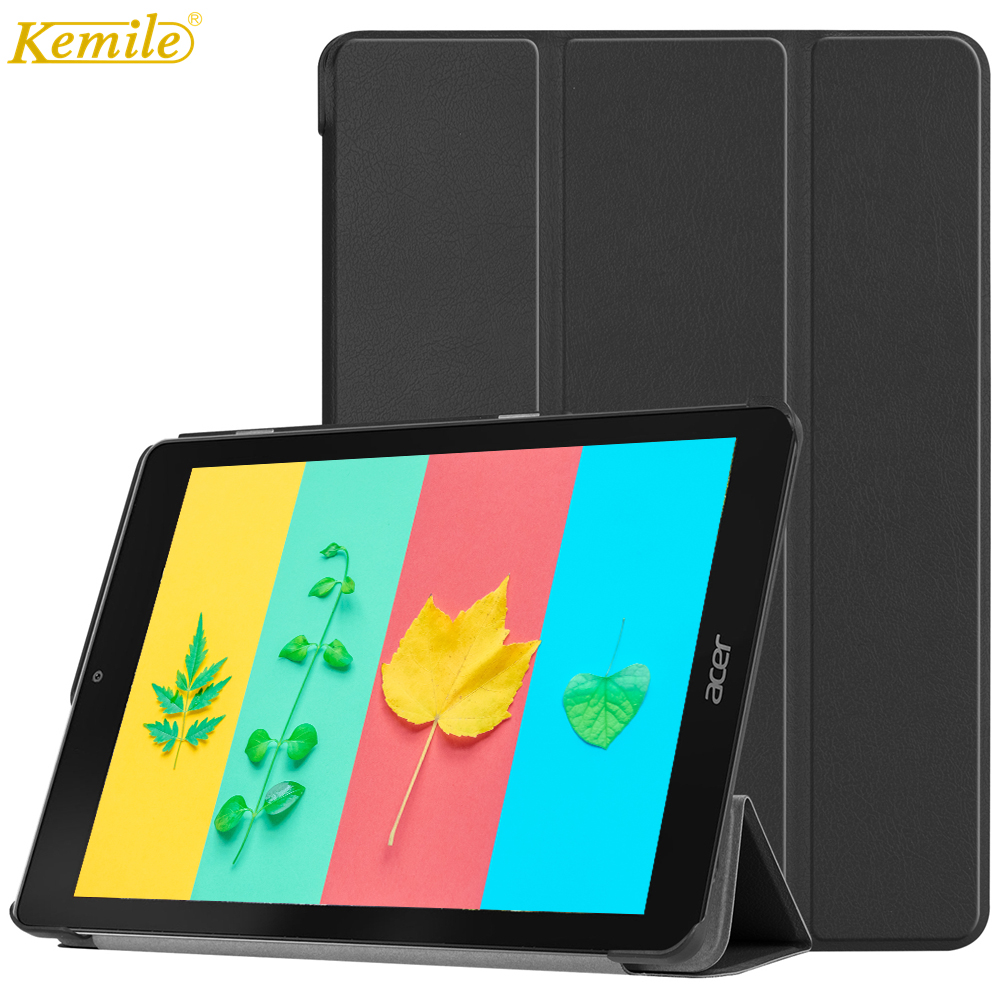 Case For ACER chromebook Tab 10 Kemile Ultra Slim Lightweight Auto Sleep Wake protection Cover