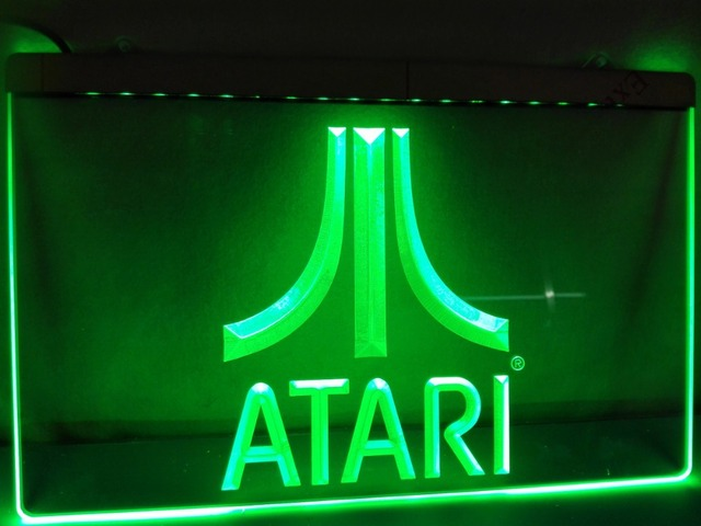 LH Atari Game PC Logo Gift Display LED Neon Light Signin - Car sign with namesonline get cheap d led sign aliexpresscom alibaba group