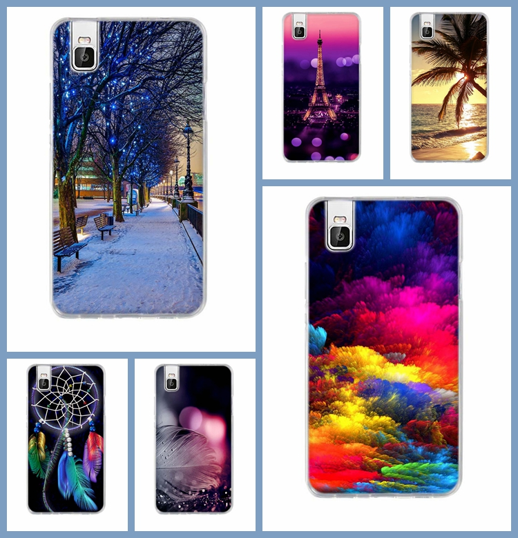 For Huawei Honor 7I Phone Case TPU Soft Cover for Huawei 7i shotx Back Cover Cartoon Painting Case For Huawei Shot X Silicone