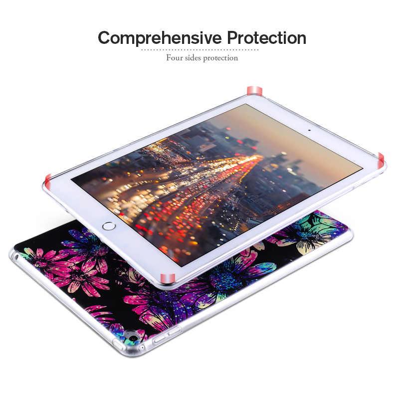 Lembut Dicat TPU Tabel Case untuk Samsung Galaxy Tab A 10.1 2019 Tab 8 2019 SM-P200 SM-P205 S5E 2019 t720 Pattern Back Cover