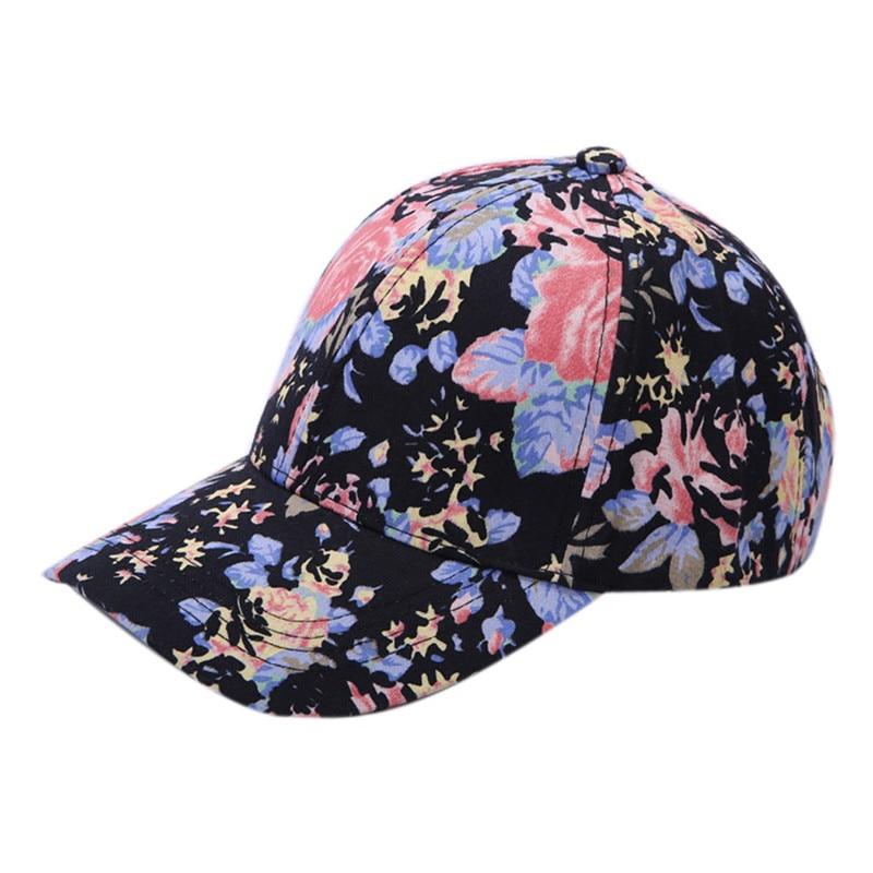 New Arrival Baby Boys Girls Snapback Hats Caps Baseball Cap Kids Children Girls  Flower Pattern Hats