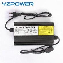 YZPOWER 58,4 V 5A 4.5A Lifepo4 литиевая батарея зарядное устройство для 48V аккумулятор Электрический велосипед Ebike Алюминиевый Чехол