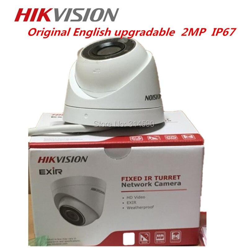 Hikvision Сеть мини купольная камера DS-2CD1321-I Exir башни сетевая камера видеонаблюдения POE IP67 поддержка обновления
