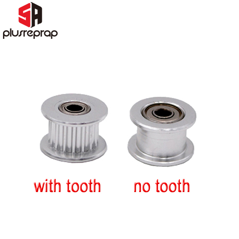 GT2 Idler 16 Teeth Timing Pulley Without Or With Tooth Bore 3mm 3D Printer Parts