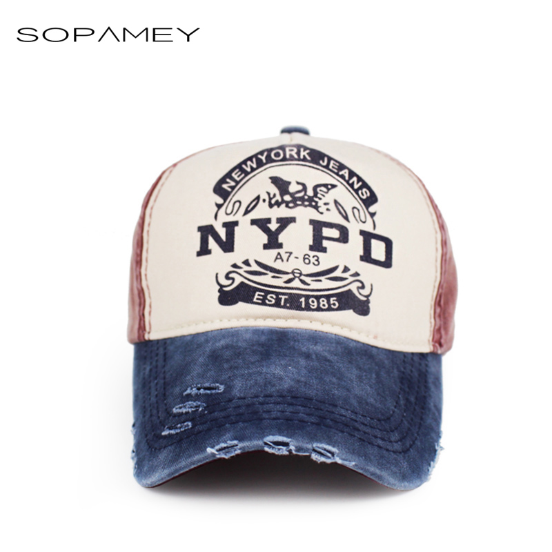 nypd baseball caps contrast color font new york police washed fabric official cap uk