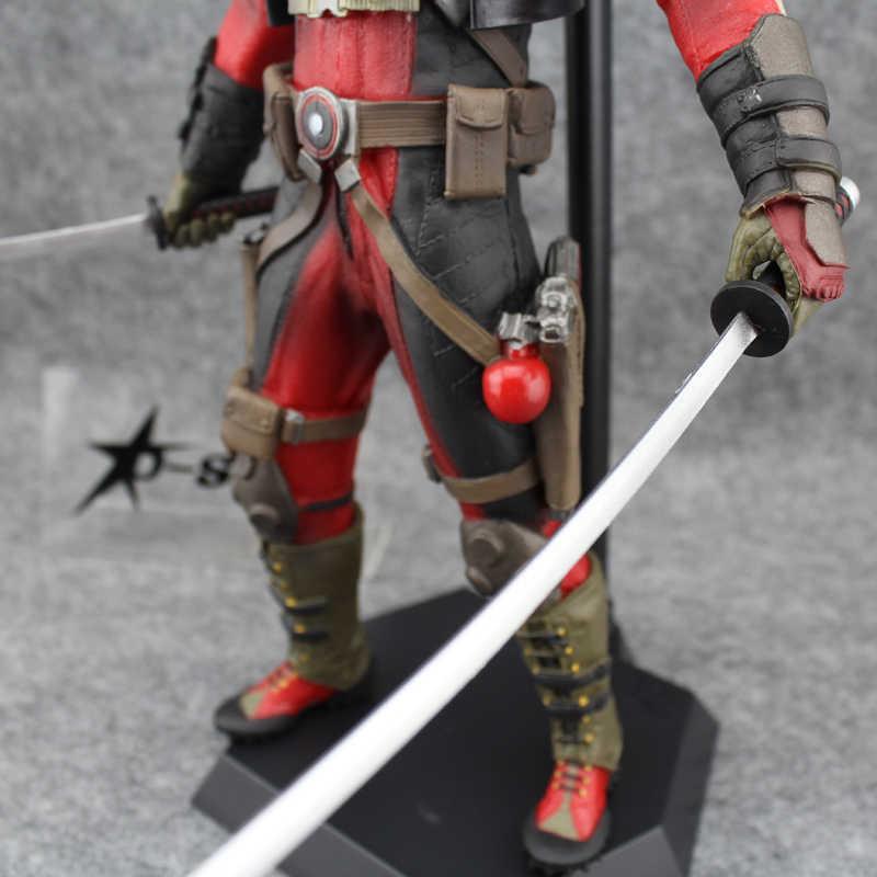 """Frete Grátis Fresco 12 """"X-MEN Super Hero O Deadpool Encaixotado 30 cm PVC de Alta Qualidade Action Figure Coleção Brinquedos Modelo Boneca de Presente"""