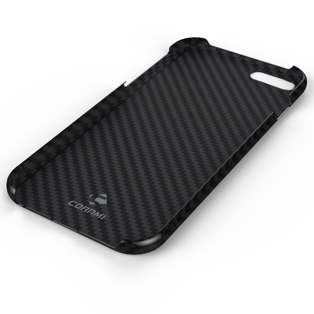 huge discount 16ac1 0c0fe US $30.52 29% OFF|CORNMI Real Carbon Fiber Case For iPhone 8 Plus Cover 5.5  inch Phone Case Luxury Ultra Thin Back Shell Housing-in Fitted Cases from  ...
