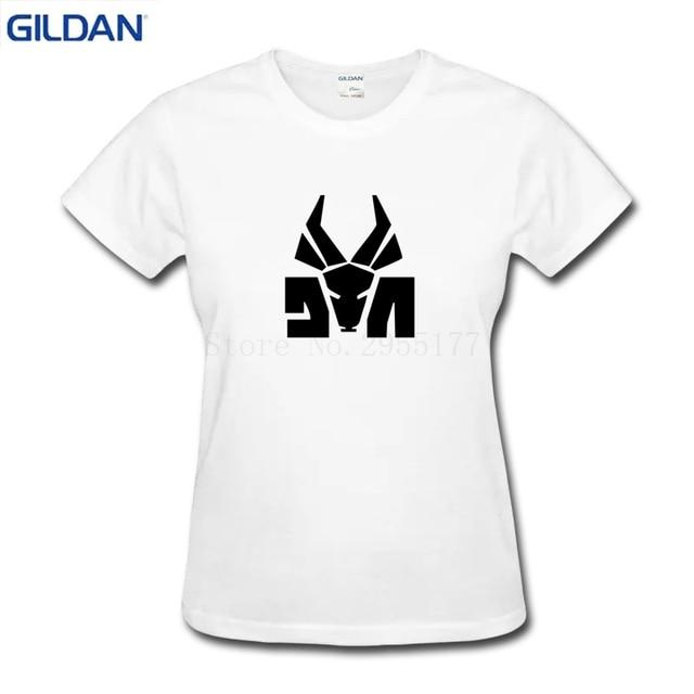 823d9444b5f DIE ANTWOORD Rat Head Logo Ninja Yolandi Rave Techno t shirt Woman cotton  black cotton tshirt designs cool for Women