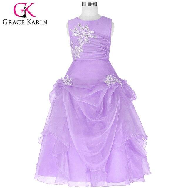 Grace karin lange blumenmädchen kleider kinder kinder hochzeit kleid ...