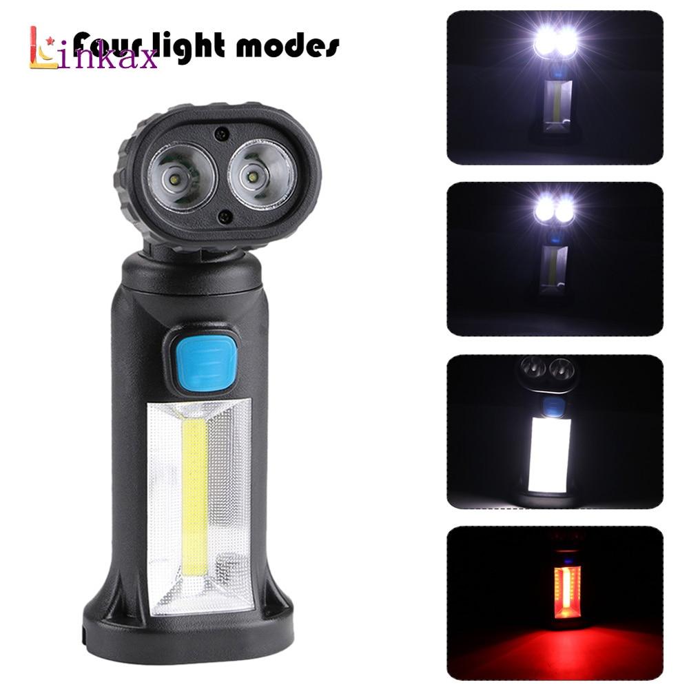 Vente 4 Mode 2 Xpe 1 Cob Led Lampe De Travail En Plein Air