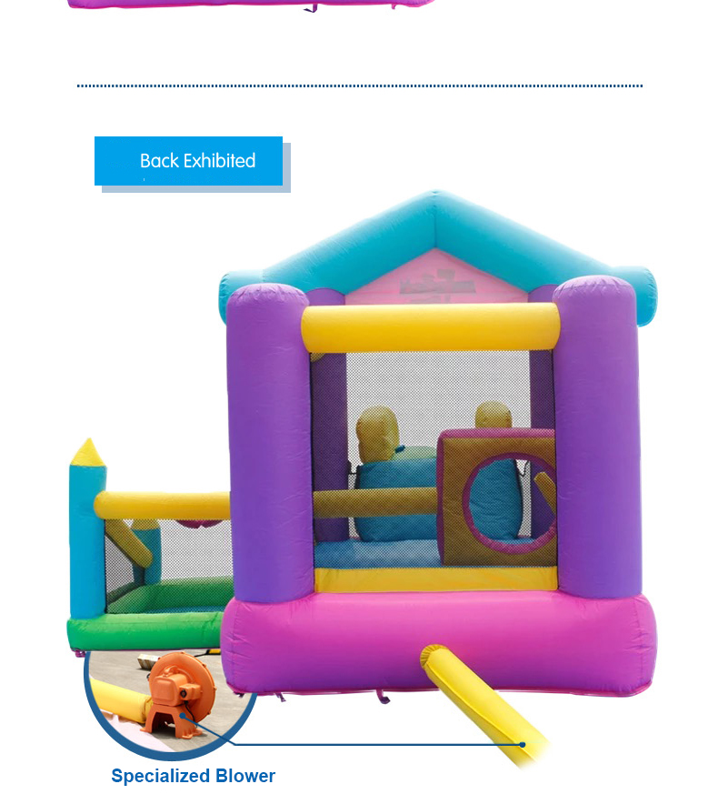 HTB1bq qPpXXXXXQXVXXq6xXFXXXo - Mr. Fun Inflatable Bouncy House Big Slide For Kids With Ball Pool, Target, & Obstacle Course With Blower