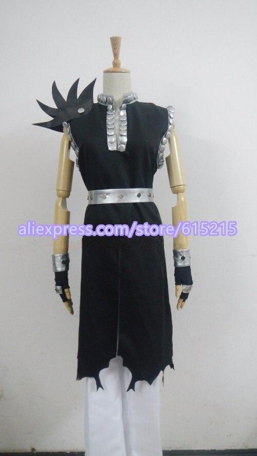 Gajeel Reitfox Costume - Fairy Tail Gajeel Reitfox Cosplay Blue Mens Fairy Tail Cosplay Costume