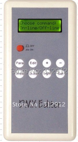 DMX editor for setting dmx address(hand type)DC5V input editor