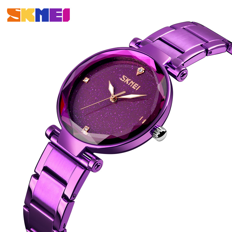 SKMEI relojes mujer Quartz Watch Women Ultra thin Female Hour Clock Ladies Montre Femme 2018 Wrist watches relogio feminino 9180