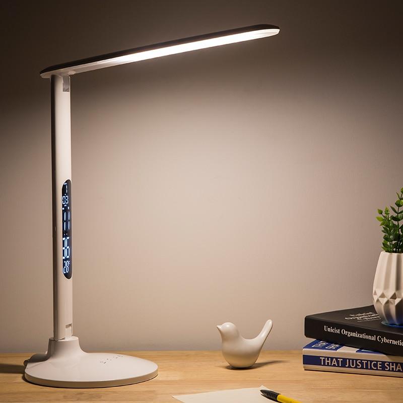 multi function table lamp 27 led light foldable desk lamp touch dimming lamp light learning work. Black Bedroom Furniture Sets. Home Design Ideas