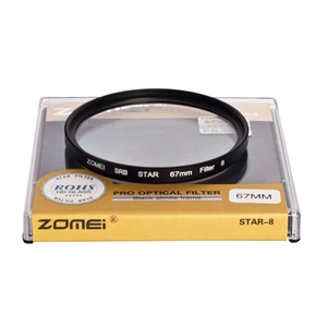 Image 3 - ZOMEI Star filter +4 Points + 6 Points + 8 Points for Canon Nikon DSLR Camera Lens 52/55/58/62/67/72/77mm