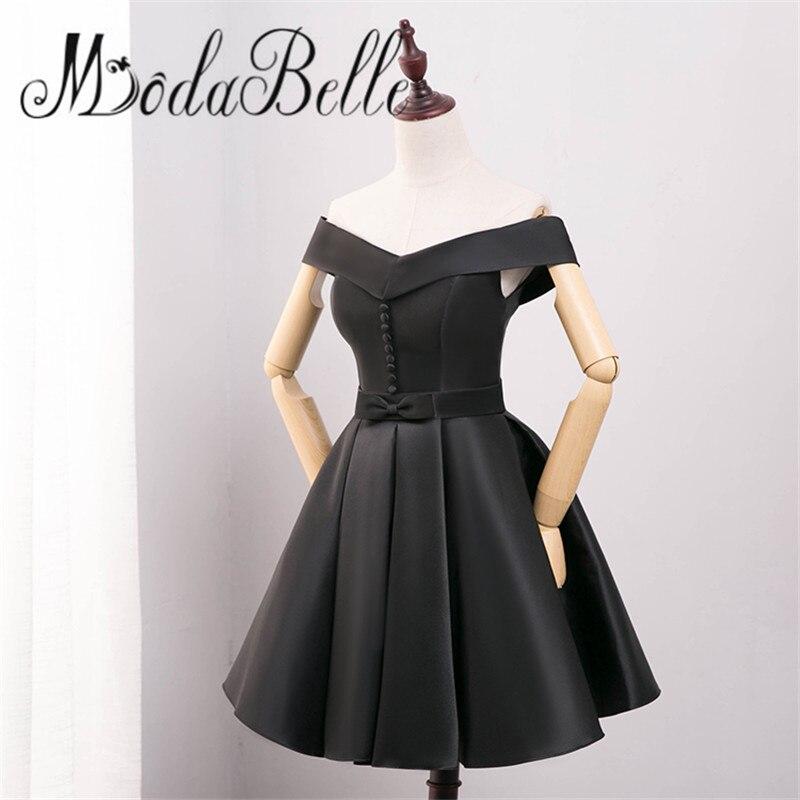 modabelle Cheap Off Shoulder Short Homecoming Dresses Under$50 Black ...