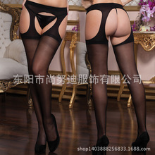 All Sides Open-Crotch Pantyhose Stockings Women Free Off Socks Solid Color Hosiery Nylon Hollow Out Stockings Female Sexuality