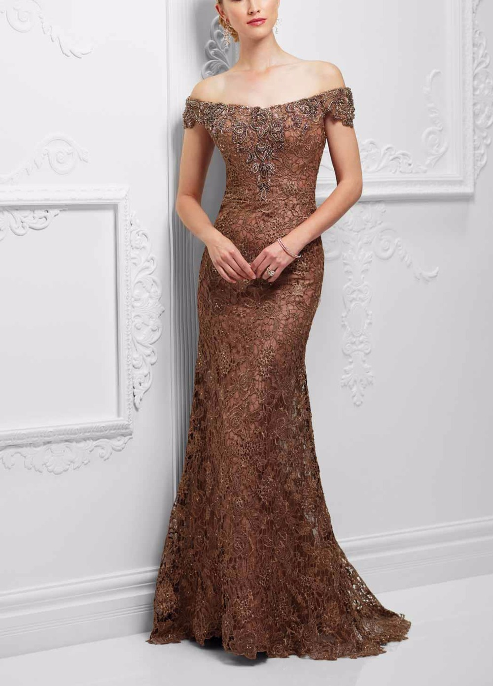Online Buy Wholesale light brown evening dresses from China light ...