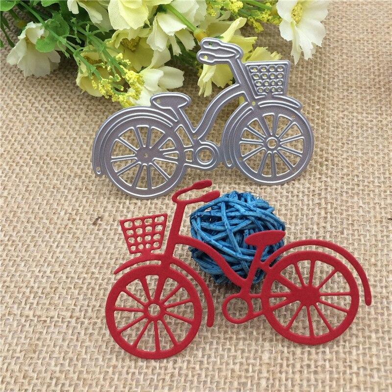 Metal Steel Bicycle Embossing Dies Cut Stencils DIY Scrapbooking Decorative Cutting Machine