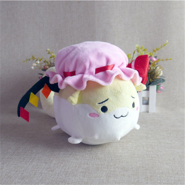 TouHou Project cosplay plush toy anime Saigyouji Yuyuko pet doll 35cm soft pillow high quality gift