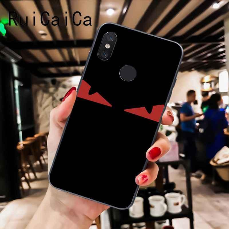 Ruicaica שד צהוב עיני VLTN הסוואה שחור טלפון מקרה עבור שיאו mi mi 6 mi x2 mi x2S Note3 8 8 לייט אדום mi 5 note5 Note4 4X