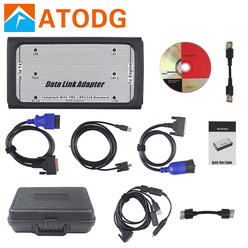 INLINE 6 Data Link Adapter Heavy Duty INLINE6 Data Link Adapter Full Set With 8 Cable INLINE Heavy Duty Diagnostic Tool(China)