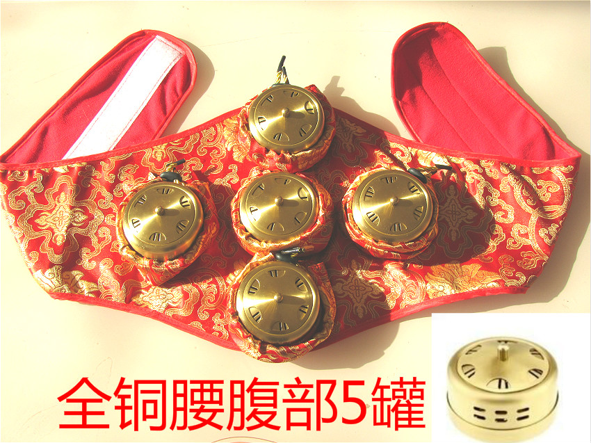 Thickening pure copper moxibustion box querysystem cauterize moxa box utensils купить
