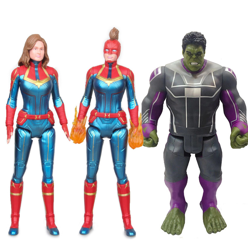 Captain Marvel Figure Avengers Infinity War Endgame 4 Marvel Action Figures Legends Hulk Acton FigureCaptain Marvel Figure Avengers Infinity War Endgame 4 Marvel Action Figures Legends Hulk Acton Figure