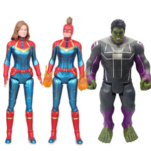 Captain Marvel Figure Avengers Infinity War Endgame 4 Marvel Action Figures Legends Hulk Acton Figure marvel legends series the defenders figure loose pack collection toys