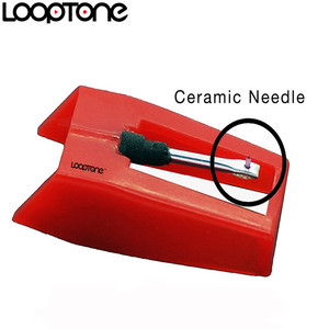 Image 2 - LoopTone 2PCS Sapphire Tipped Ceramic Needle Stylus for Vinyl LP Record Player Turntable Players, Gramophone Accessory