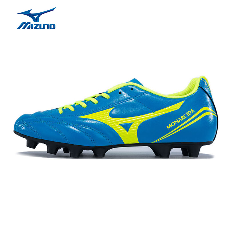 MIZUNO Men's MONARCIDA FS MD Soccer Shoes Breathable Cushioning Sports Shoes Sneakers P1GA162344 YXZ046 2008 donruss sports legends 114 hope solo women s soccer cards rookie card