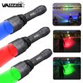350 лм охотничий фонарь 256 ярд фонарь 3 светлый цвет синий/красный/зеленый охотничий фонарь  он используется для охоты  рыбалки