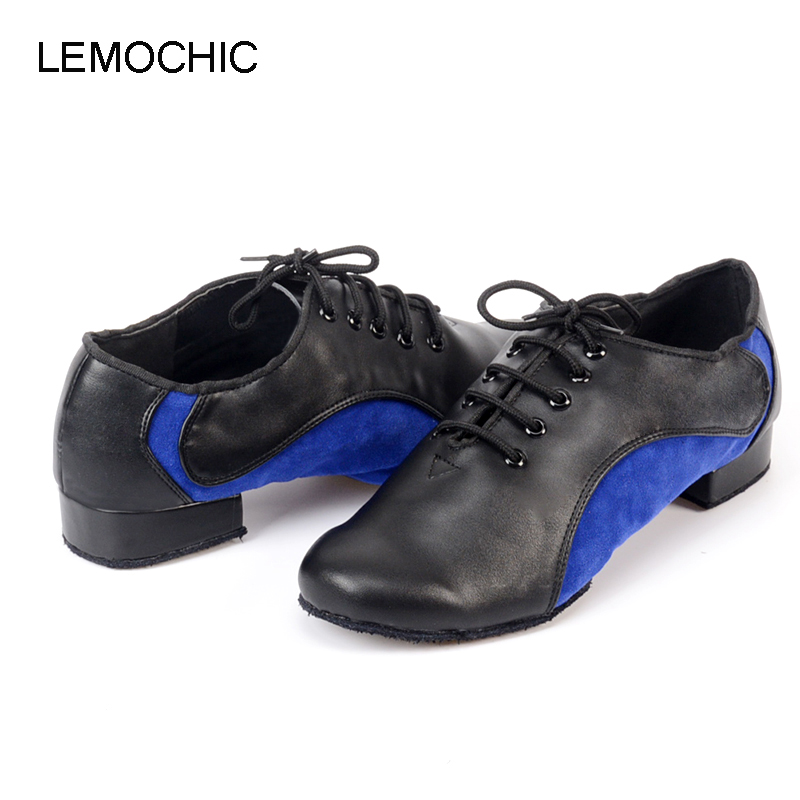 LEMOCHIC modest men style hot sale rumba samba latin tango cha cha pole salsa ballroom pointe professional dancing shoes