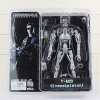 Neca de terminator 2 action figure t-800 endoskeleton classic figuur speelgoed 7