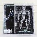 "Neca terminator 2 figura de acción de t-800 endoesqueleto clásica figura de juguete 7 ""18 cm"
