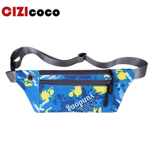 купить New Men Casual Waist Pack Bag Brand Waterproof Nylon Shoulder Fanny Pack Women Belt Bag Pouch Money Phone Bum Hip Bag дешево