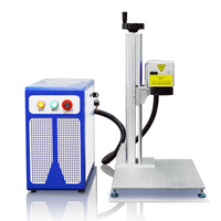 20W Mopa Fiber Laser Marking Machine Color Laser Marking Machine