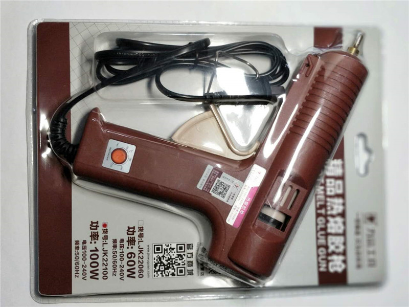 LIJIAN EU / USA dugaszoló meleg olvadású ragasztópisztoly, 100W - Elektromos kéziszerszámok - Fénykép 5