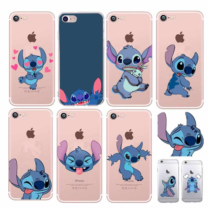 Lovely Stitch Case Coque Phone Case for iphone X Capa Cover Coque ...