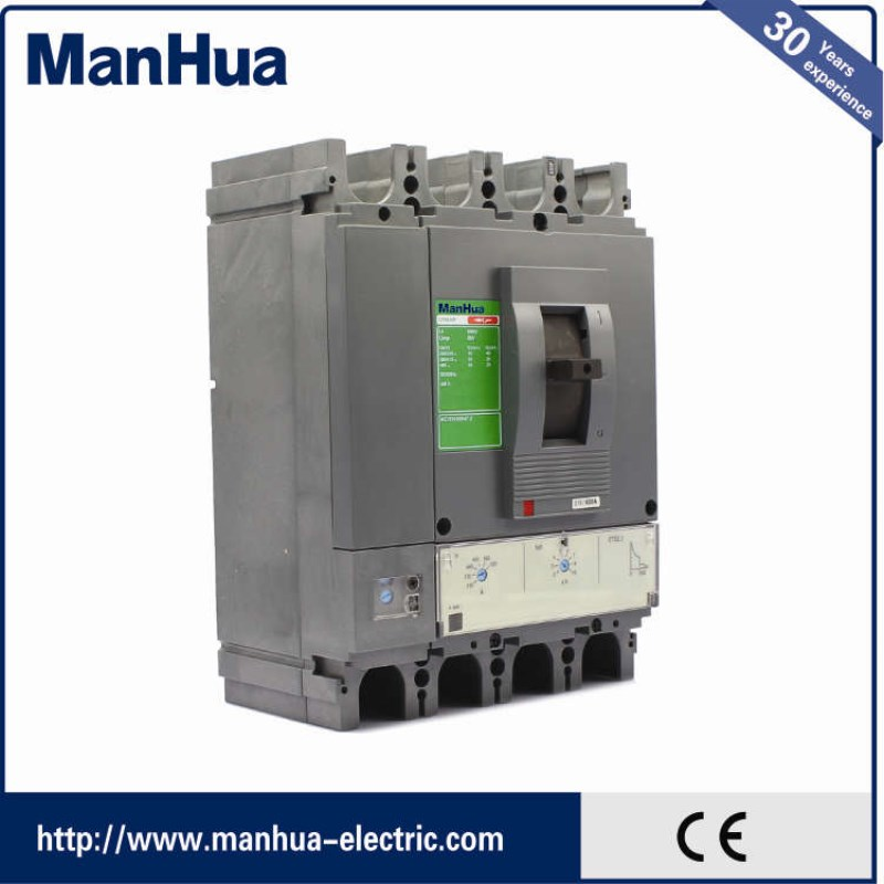 Manhua 2017 New Product 630 Amp Moulded Case Mccb Circuit Breaker CVS 630F Surge Protector 440V Voltage Protection Smart Home cm1l 225 3300 mccb 100a 125a 160a 180a 200a 225a molded case circuit breaker cm1l 100 moulded case circuit breaker