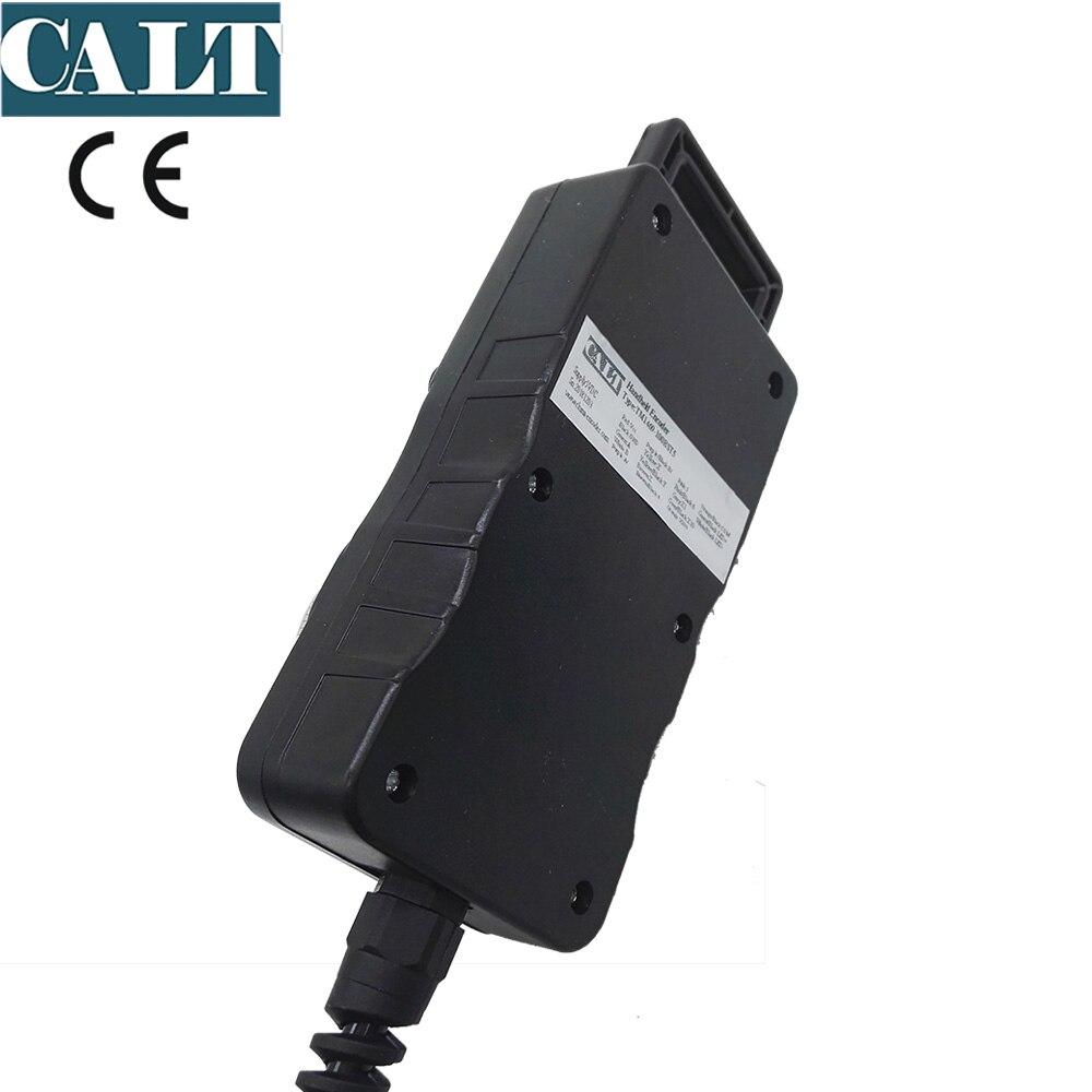 DC12V télécommande MPG codeur d'impulsion de roue à main pour Mitsubishi CNC 25 TM1469 25BST12 de codeur rotatif d'impulsion - 6