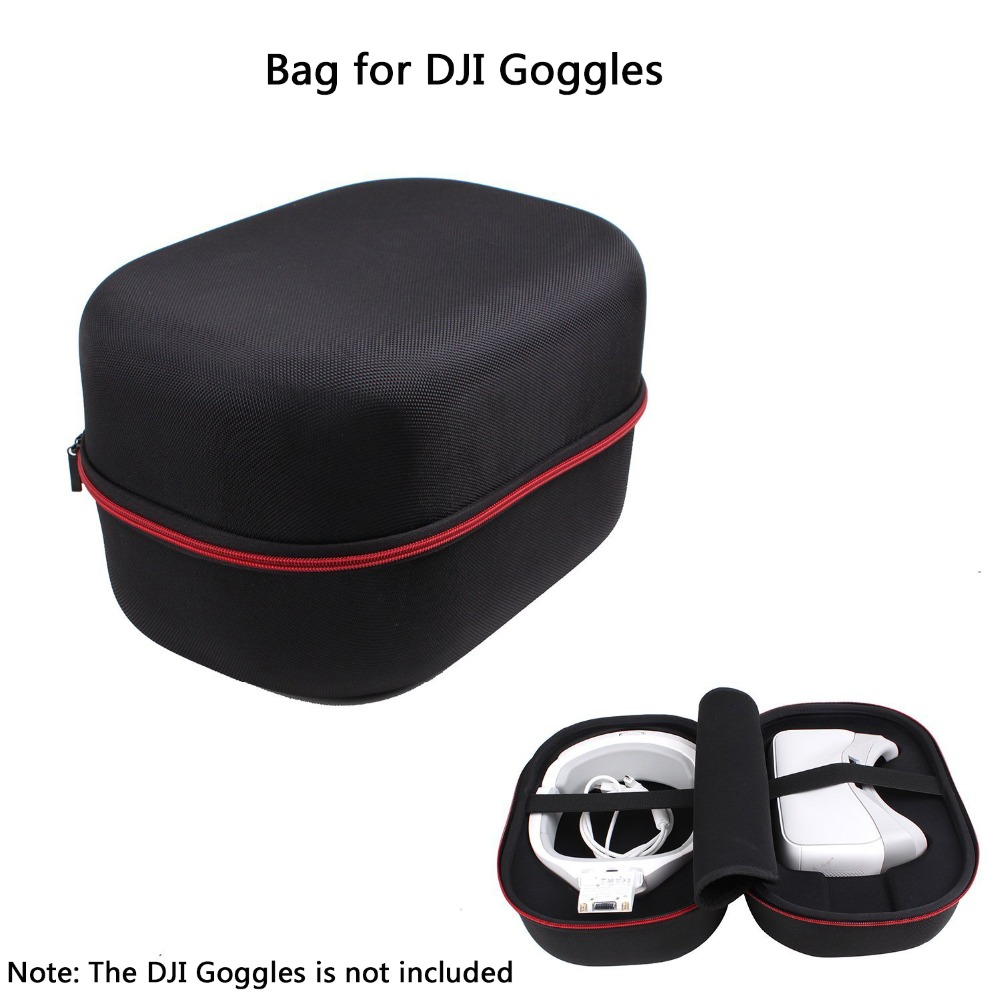 For DJI Goggle VR Glasses Handheld Carry Case Safety Box Suitcase Storage Bag Waterproof Suitcase for DJI Goggle Accessories