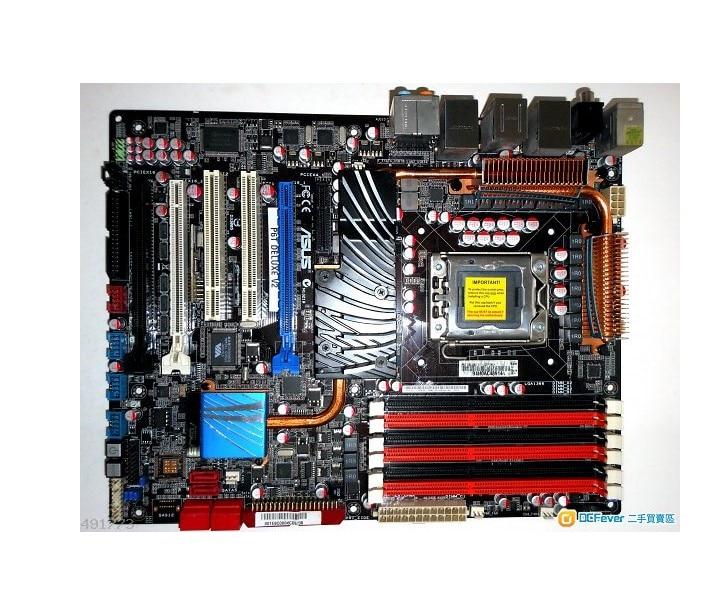 Original escritorio placa base ASUS P6T Deluxe V2 DDR3 LGA 1366 24 GB USB2.0 X58 placa base de escritorio envío gratuito