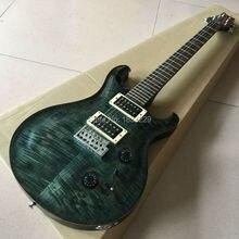 Hand made Flamme top körper P style e-gitarre, holz, Trans-Rot-SUPER SELTEN, Top Qualität, Wholesale & Retail