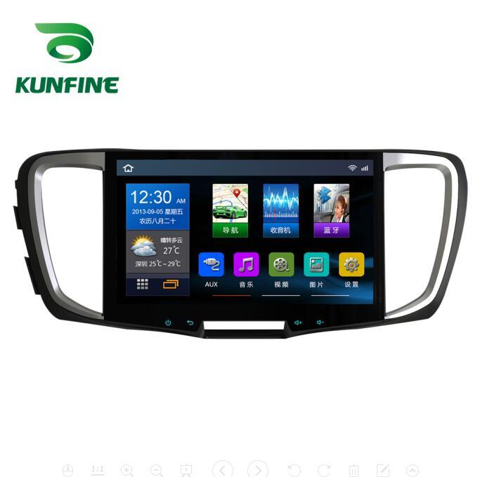 Quad Core 1024*600 Android 6.0 lecteur de voiture DVD GPS Navigation stéréo sans couvercle pour Honda Accord 2018 Radio Headunit wifi
