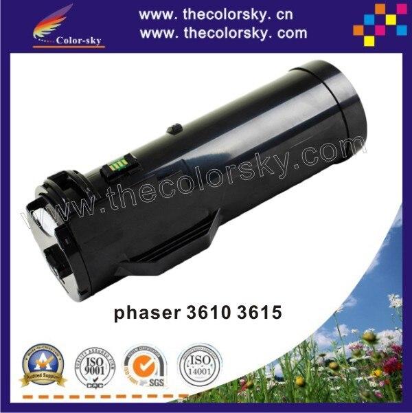 US $77 88 |(CS X3610 5 9) toner laserjet printer laser cartridge for XEROX  phaser 3610 workcentre 3615 106R02720 106R02721 bk 5 9k pages-in Toner