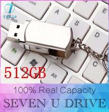Newest super silver Pendrive 32GB 64GB 16GB swivel usb flash drive 512GB pendrives memory disk stick Flash Drive Pendrive 128GB