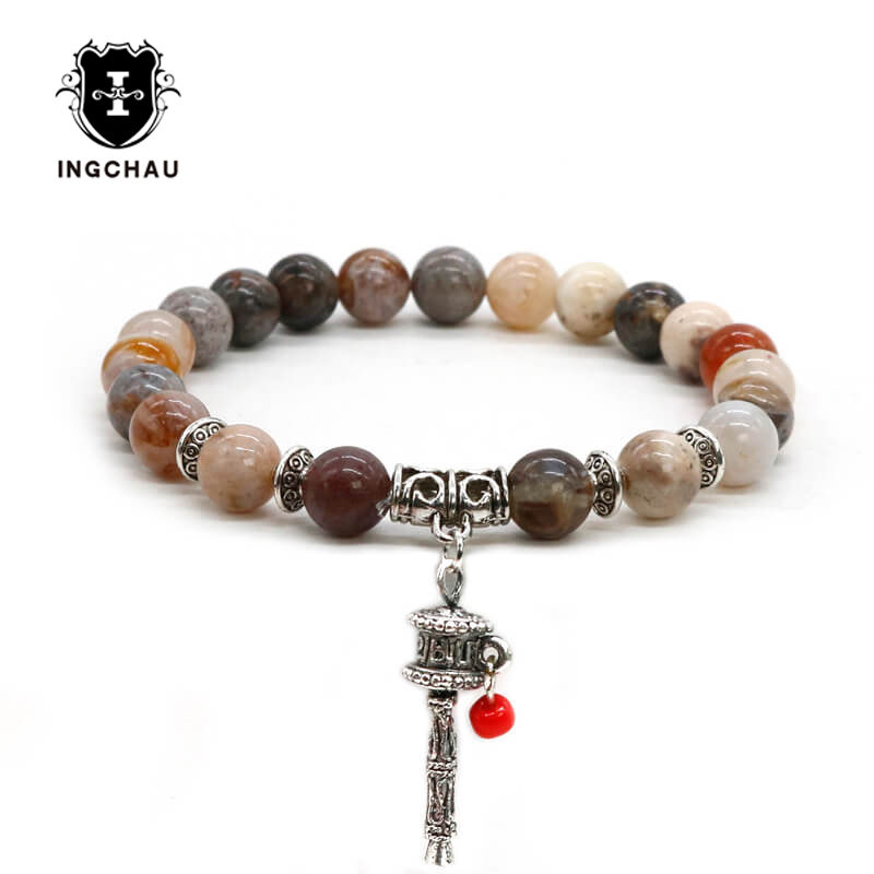 item strand buddhism adjustable dankaishi pieces handmade coconut natural bracelets bracelet meditation beads wheel prayer