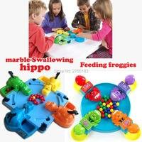 Lustige Hungrig Hippo swallow perlen tischspiel, Fütterung Frösche eltern-kind-interaktion spielzeug Brettspiel lernspielzeug, 2 Stile